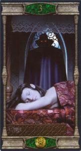 3 Пентаклей Таро Вечная Ночь Вампиров