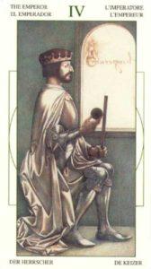 4 Император Таро Леонардо Leonardo da Vinci Tarot