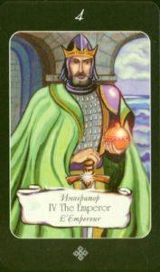 4 Император Таро эры Водолея