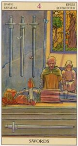 4 Мечей TAROT of the NEW VISION