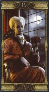 4 Император Таро Вечная Ночь Вампиров