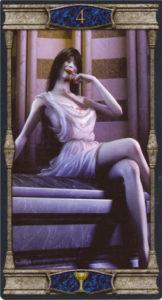 4 Кубков Таро Вечная Ночь Вампиров