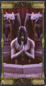 5 Иерофант Таро Вечная Ночь Вампиров