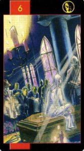 6 Динариев Готическое Таро Вампиров