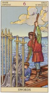 6 Мечей TAROT of the NEW VISION