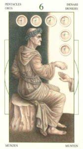 6 Монет Таро Леонардо Leonardo da Vinci Tarot