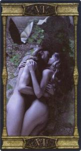 6 Влюбленные Таро Вечная Ночь Вампиров