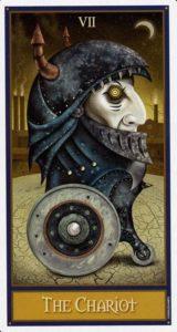 7 Колесница Таро Девиантной Безумной Луны Deviant Moon Tarot