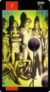 7 Кубков Готическое Таро Вампиров