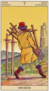 7 Мечей TAROT of the NEW VISION