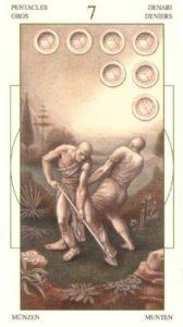 7 Монет Таро Леонардо Leonardo da Vinci Tarot