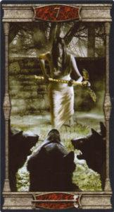7 Жезлов Таро Вечная Ночь Вампиров
