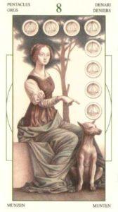 8 Монет Таро Леонардо Leonardo da Vinci Tarot