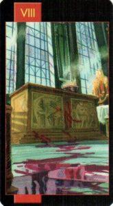8 Правосудие Готическое Таро Вампиров
