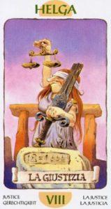 8 Справедливость Таро Гномов