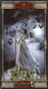 8 Жезлов Таро Вечная Ночь Вампиров