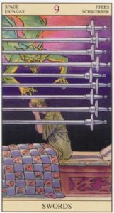 9 Мечей TAROT of the NEW VISION