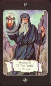 9 Отшельник Таро эры Водолея