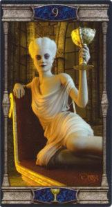 9 Кубков Таро Вечная Ночь Вампиров
