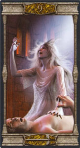 9 Мечей Таро Вечная Ночь Вампиров