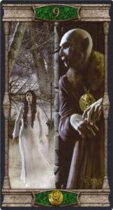 9 Пентаклей Таро Вечная Ночь Вампиров